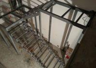 Лестница из уголка 50х50