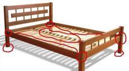Почему скрипит кровать что делать